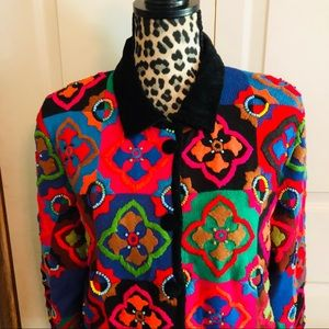 Vintage Michael Simon sweater size Large